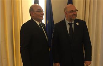 وزير الزراعة يبحث مع نظيريه الفرنسي والمقدوني تكثيف سبل التعاون