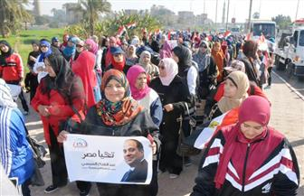 انطلاق مهرجان المشي في سوهاج بمشاركة 250 سيدة وفتاة   صور