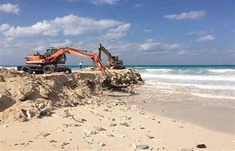 مشروعات لتثبيت تراجع خط شاطئ الأبيض بمطروح بتكلفة 60 مليون جنيه