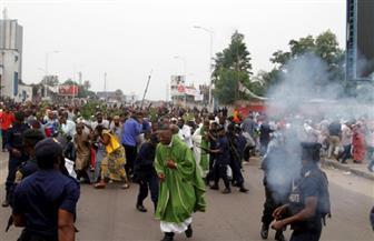 مقتل خمسة وإصابة 33 على الأقل في تفريق مظاهرات في كينشاسا