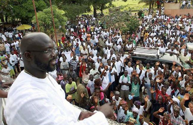 جورج ويا رئيس ليبيريا