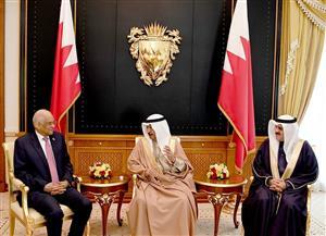 """""""عبدالعال"""" يلتقي خليفة بن سلمان آل خليفة رئيس وزراء مملكة البحرين"""