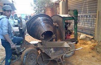 حملة موسعة لرفع الإشغالات بحي الهرم
