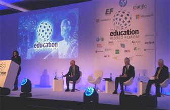 """""""الرؤى والابتكار"""" جلسة نقاشية بالمنتدى العالمي للتعليم العالي"""