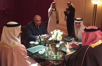وزراء خارجية الرباعي العربي يؤكدون التضامن الكامل في مواجهة الممارسات القطرية الاستفزازية