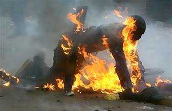 """محتج يحاول الانتحار حرقا """"بقفصة"""" جنوب تونس للمطالبة بفرصة عمل"""