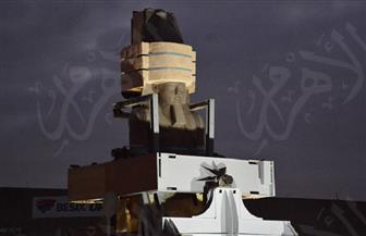 وزير الآثار يشهد الاستعدادات النهائية لنقل تمثال رمسيس الثاني لبهو المتحف الكبير   صور