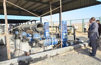 تنفيذ الحل النهائي لمشكلة الصرف الصناعي ببياض العرب في بني سويف | صور