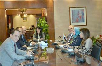 وزيرة السياحة تلتقي ممثلي شركة فنادق عالمية