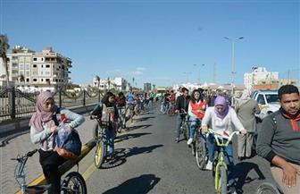 محافظ البحر الأحمر يشهد انطلاق ماراثون الدراجات لتنشيط السياحة بالغردقة | صور