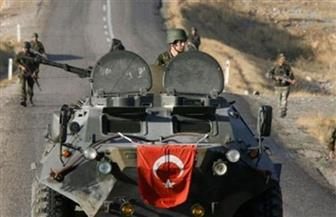 معارك في المنطقة الحدودية بين القوات التركية والكردية في شمال سوريا