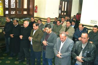 محافظ الغربية والقيادات الأمنية يؤدون صلاة الغائب على أرواح شهداء الوطن| صور