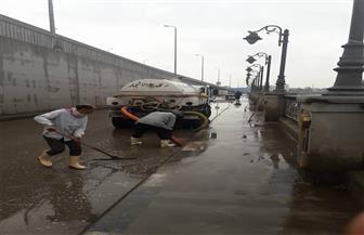 استمرار أعمال رفع مياه الأمطار بمختلف مراكز ومدن الدقهلية | صور