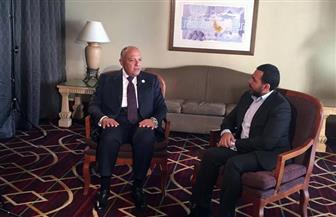 """وزير الخارجية في حوار مساء اليوم على """"أون لايف"""" من أديس أبابا"""