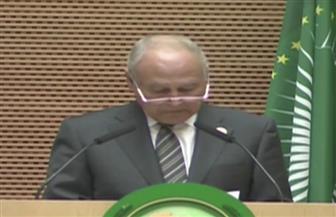 أبو الغيط في قمة الاتحاد الإفريقي: علينا مضاعفة الجهود لمواجهة التحديات