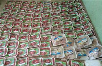 ضبط كمية من اللحوم والدواجن غير الصالحة في حملة على المحلات بالغردقة |صور