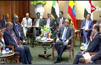 الرئيس السيسي في القمة الثلاثية: لا توجد أزمة بين مصر وإثيوبيا والسودان