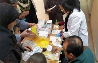 الكشف الطبي على 1030 مواطنا بالمجان في قافلة طبية بطوخ