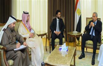 وزير الصناعة يبحث مع وفد سعودي الإعداد لاجتماع اللجنة الوزارية المشتركة أبريل المقبل بالرياض