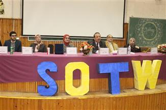 رئيس جامعة طنطا لطلاب الصيدلة: كلكم أولادي وبابي مفتوح أمام الجميع | صور