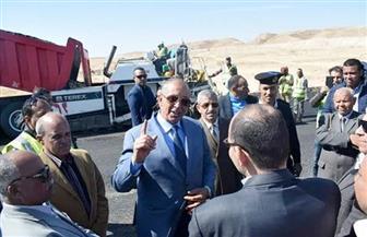محافظ البحر الأحمر يتفقد عددًا من المشروعات بمدينة القصير |صور