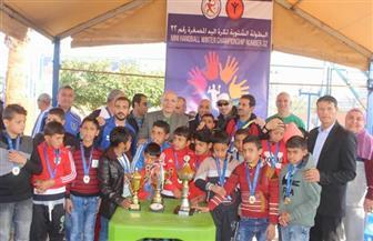تكريم فريق أهلي سيناء في أول مشاركة لبطولة اليد المصغرة بالشمس