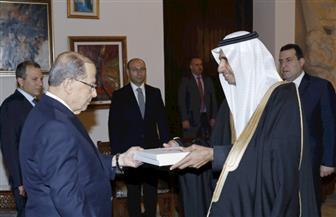 السفير السعودي يسلم أوراق اعتماده للرئيس اللبناني بعد أزمة بين البلدين