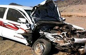 إصابة 3 أشخاص فى حادث تصادم بطريق (بنها- شبرا الحر) بالقليوبية