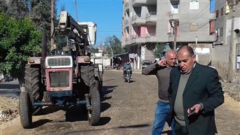 رئيس مدينة سمنود يُحيل مسئول إنارة عامة للتحقيق | صور
