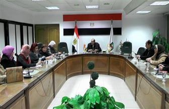 """محافظ سوهاج يبحث مع القومي للمرأة آلية تنفيذ حملة """"صوتك لمصر بكرة"""""""