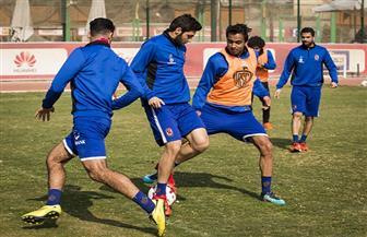 """تمرين قوي للاعبي الأهلي الغائبين عن مباراة الدراويش.. و""""الجزار"""" يظهر للمرة الأولى"""