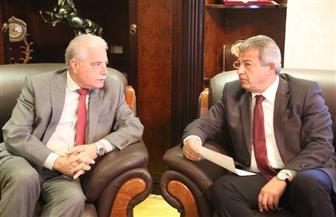 وزير الشباب والرياضةيستقبل محافظ جنوب سيناء.. ومباراة ودية مع بيلاروسيا