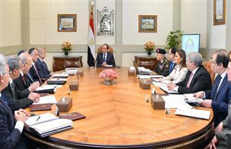 الرئيس السيسي يوجه بزيادة منافذ توزيع السلع الغذائية لتخفيف الأعباء على المواطنين