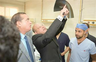 رئيس جامعة سوهاج : زيادة عدد المرضى وقلة الإمكانات أهم مشكلات المستشفى