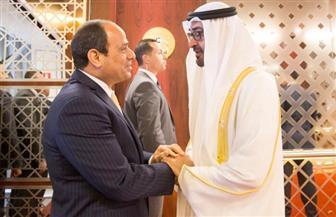 الرئيس السيسي يعزي الشيخ محمد بن زايد في وفاة والدته