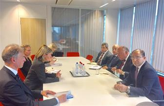 تفاصيل جلسة مباحثات وزير الخارجية مع الممثل الأعلى للسياسة الخارجية والأمنية للاتحاد الأوروبي | صور