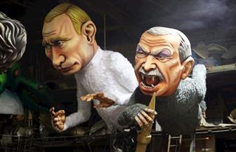 ترامب وأردوغان.. شخصيات كاريكاتيرية في مهرجان نيس الفرنسي