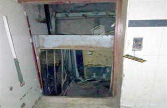 ننشر أسماء الوفيات والمصابين في حادث سقوط أسانسير مستشفى بنها