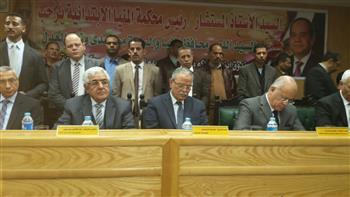 محافظ المنيا ومدير الأمن يفتتحان أعمال إعادة إعمار وتجديد مجمع محاكم مغاغة