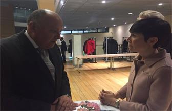 وزير الخارجية يلتقي نظيرته النرويجية في بروكسل
