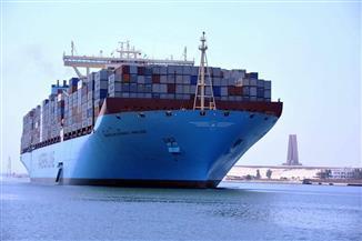 50 سفينة عبرت قناة السويس اليوم بحمولة 2 مليون و900 ألف طن