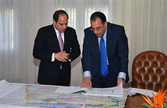 الرئيس السيسي يوجه وزارتي الإسكان والدفاع بالانتهاء من مخطط استراتيجية تنمية سيناء في أقرب