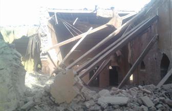 انهيار أسقف بقصر هدى شعراوي بالمنيا دون خسائر في الأرواح