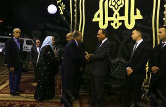القطان وحمدي وسبلة وحسن وفرج يشاركون في عزاء الراحل إبراهيم نافع