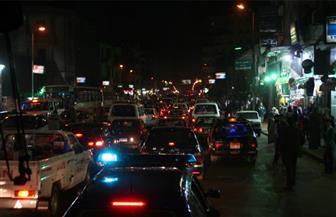 كثافات مرورية بكورنيش النيل وأعلى كوبري أكتوبر والطريق الدائري