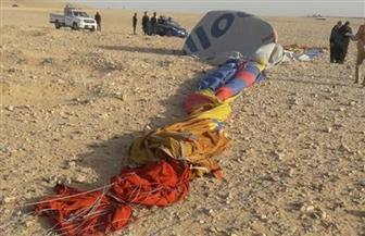 رئيس سلطة الطيران المدني من موقع ارتطام بالون الأقصر: حادث وارد حدوثه في مختلف بلدان العالم