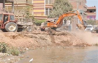 تطهير نهر النيل في مدينة دمياط بطول 6 كيلو مترات
