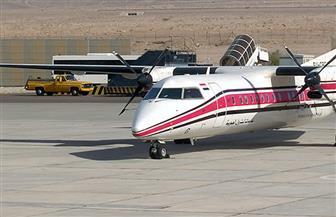 عودة طائرة خدمات البترول لسوء الأحوال الجوية
