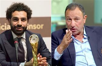 الخطيب يهنئ محمد صلاح بجائزة الكاف.. والأهلي يكرمه