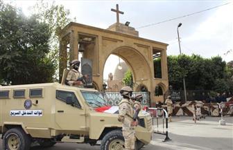 اجراءات أمنية مشددة وكردونات لتأمين الكنائس فى عيد الغطاس بسوهاج